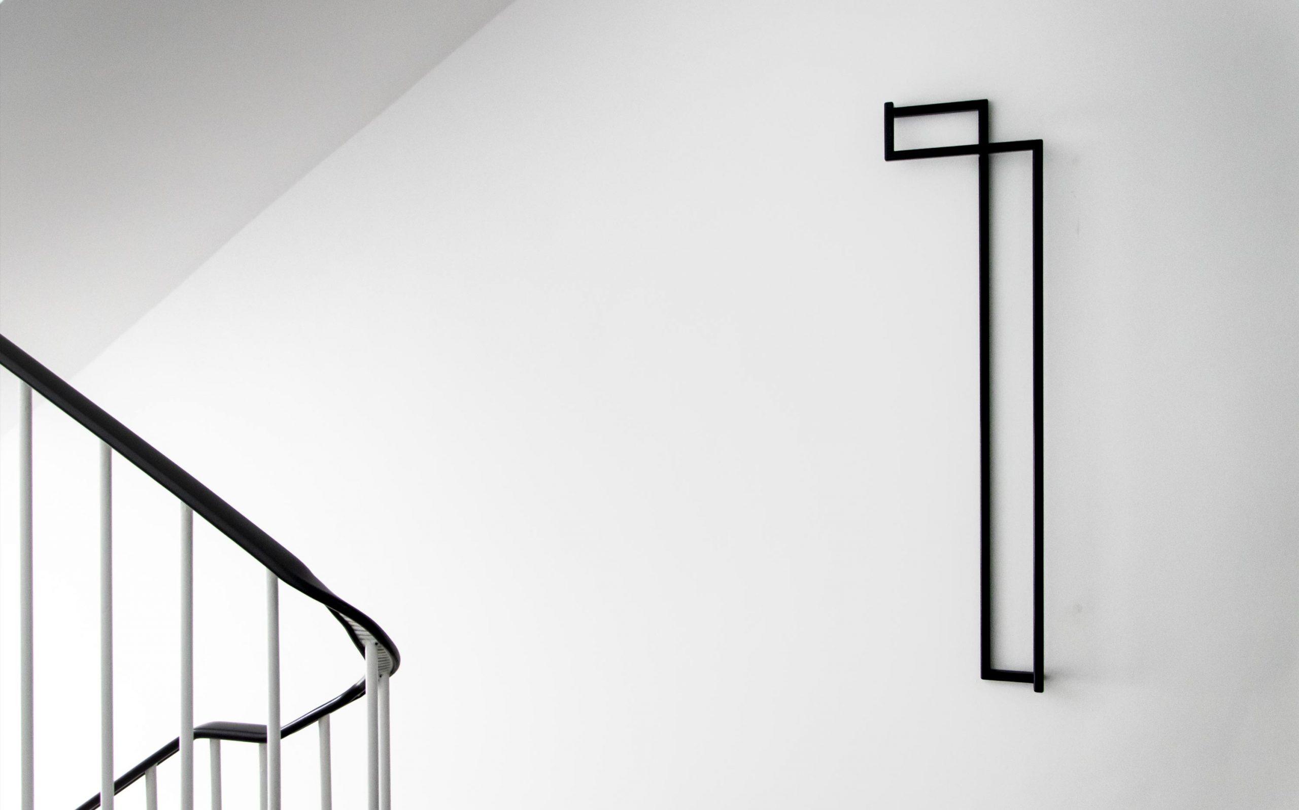 Etagenkennzeichnung für das Rechenzentrum der Finanzverwaltung des Landes Nordrhein-Westfalen   Etagenziffer OG1   Keywords: Etagenkennzeichnung, Signaletik, Leitsystem, Orientierungssystem, Design, Grafikdesign, Typografie